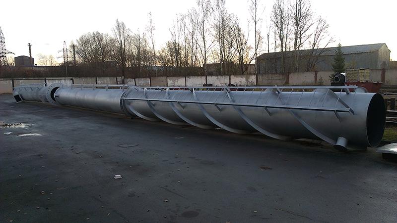 Сборная дымовая труба для ООО «Мир гранул»