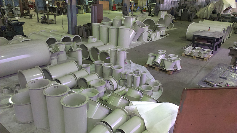 Комплект аспирационной системы для производственной площадки в п. Подберезье